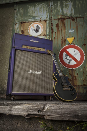 Captain guitar Lounge Marshall Super Lead 1974 Purple