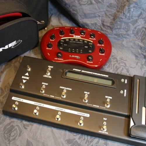 Line6 Pod XT mit FBV Shortboard und Tasche