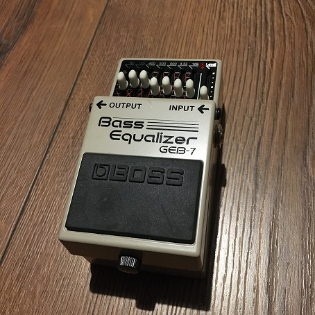 Boss Bass EQ GEB-7