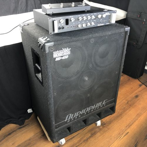 Music Man HD 500 Bassamp + HD 410 Box