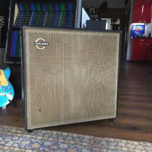 """1970 Carlsbro 4x12"""" X0042 Captain Guitar Lounge"""
