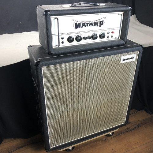 1974 Matamp GT100 + Matching 4x12 Cabinet