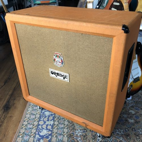 1977 Orange 4x12 Box - 120 Watt