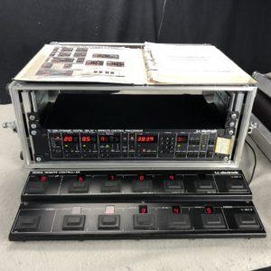 1987 TC 2290 Digital Delay Effektprozessor + Foot Controller