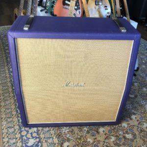 Marshall 1982A Purple Hendrix 4x12 Cabinet