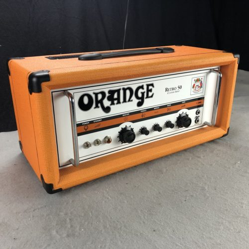 2007 Orange Retro 50 Custom Shop Handwired