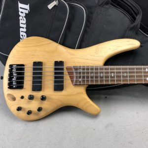 2012 Ibanez SR605 5-String Bass