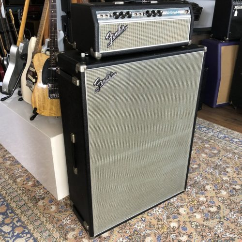 1968 Fender Bassman 100 Watt Stack