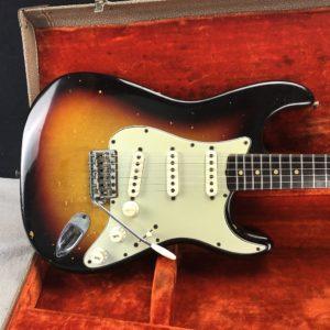 1963 Fender Stratocaster Sunburst