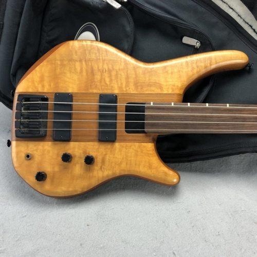 1997 Energy Graphite Status Fretless Bass