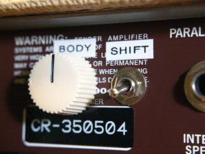Fender Super Sonic 22 Body Mod