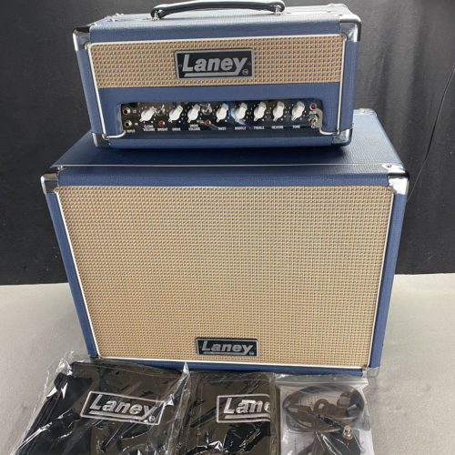 2018 Laney Lionheart L5 Studio + LT-112 Box
