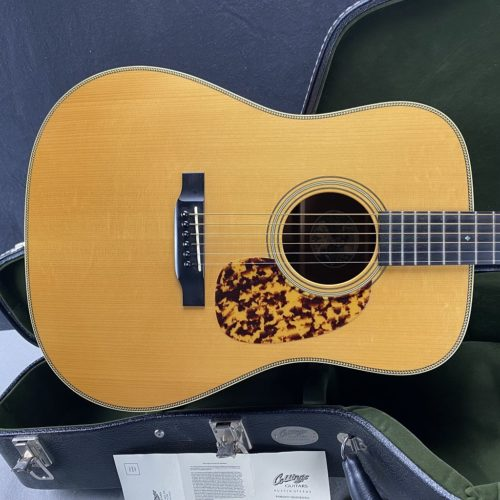 2012 Collings - D2HMhA Adirondack Spruce Top - ID 1214