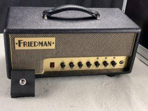 2017 Friedman - Runt 20 Head mit Flightcase - ID 1308