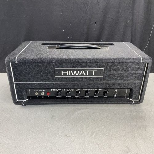 2014 Hiwatt Custom - Studio Stage Head MKII - ID 1290