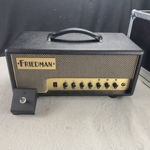 2017 Friedman - Runt 20 Head mit Flightcase - ID 1308