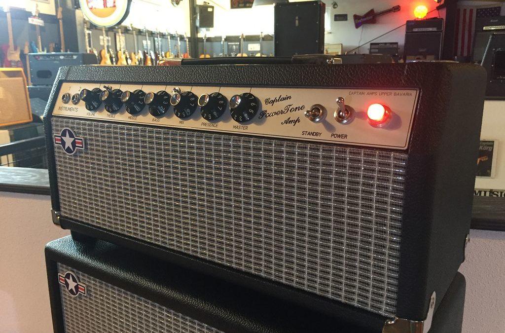 Captain Power Tone Amp Top + Box