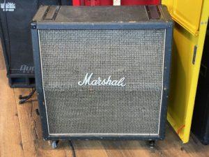 1976 Marshall - 1960A Cabinet Blackback G12M-25 - ID 1439