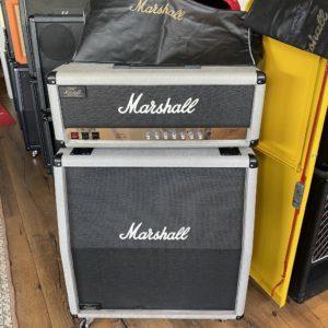 1987 Marshall - Silver Jubilee 25/50 - Halfstack - ID 1481