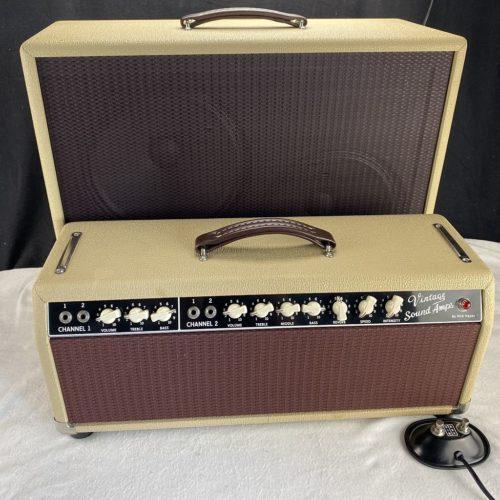 2008 Vintage Sound - 40 Watt - Head und 2x12 Cabinet - ID 1526