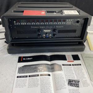 1991 Mesa Boogie - Simulclass 2: Ninety + Triaxis Preamp - ID 1494