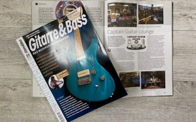Captain Guitar Lounge in Gitarre&Bass
