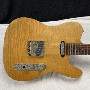 1988 Oswald Guitars - T-Style - Flamed - ID 1660